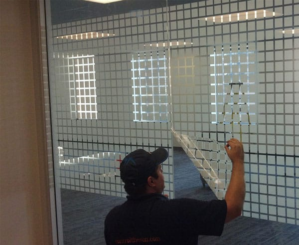commercial decorative glass tinting mesa